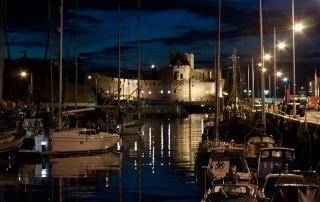 Peel Castle at Night