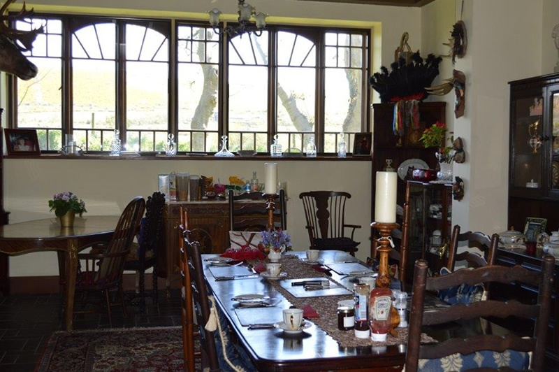 The Dining Room for our B&B visitors