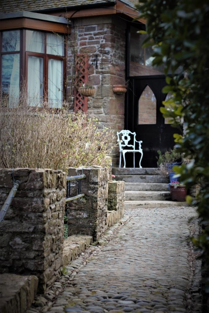 Entrance to Langtoft Manor