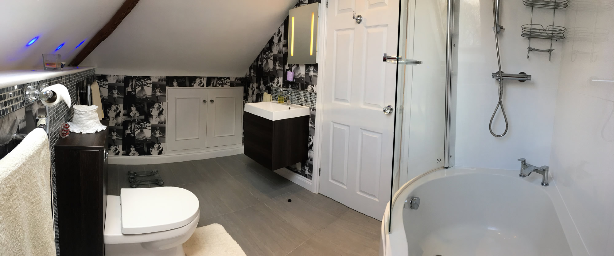 Bathroom at Langtoft Manor