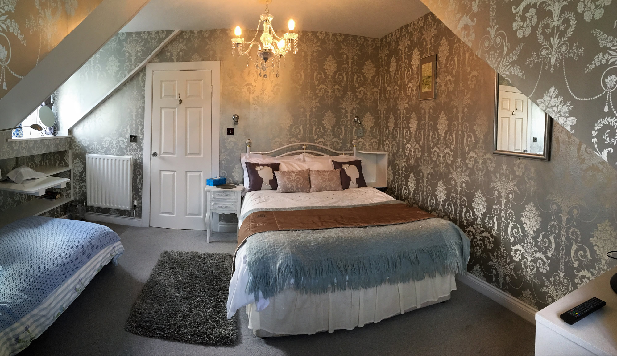Bedroom at Langtoft Manor